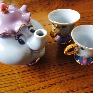 ディズニー(Disney)のポット夫人 チップ×2(食器)