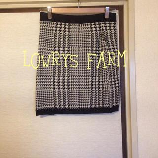 ローリーズファーム(LOWRYS FARM)のLOWRYS FARM*ニットスカート(ミニスカート)
