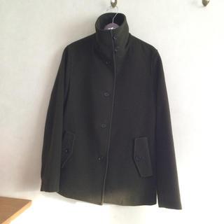 ムジルシリョウヒン(MUJI (無印良品))の無印良品 スタンドカラーコート Sサイズ(ピーコート)