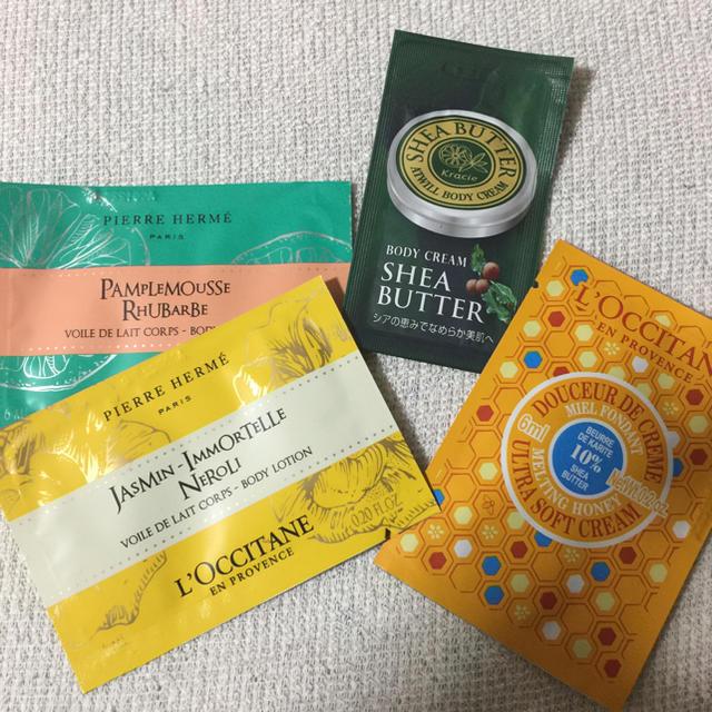 L'OCCITANE(ロクシタン)の女子力アップの入浴剤&ボディクリームセット♪ コスメ/美容のボディケア(入浴剤/バスソルト)の商品写真