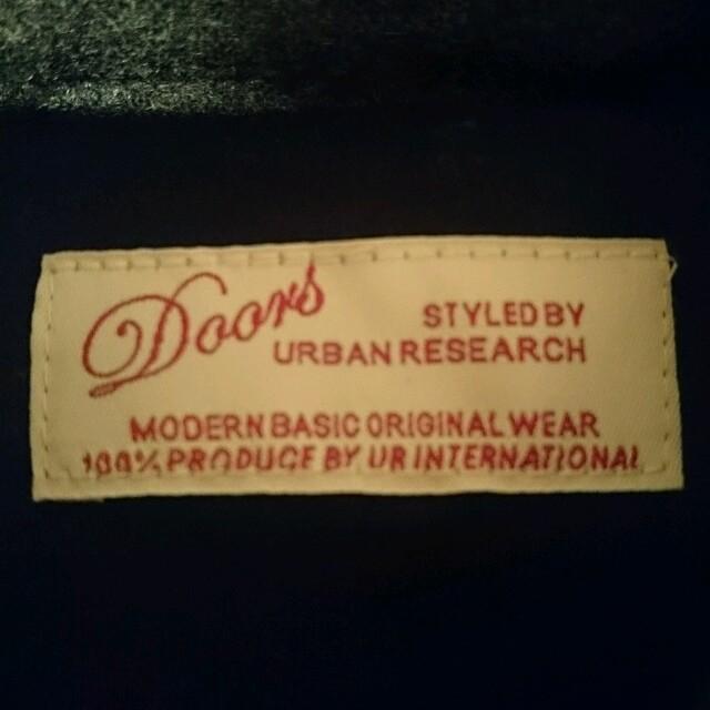 URBAN RESEARCH(アーバンリサーチ)のURBAN RESEARCH DOORS グレー ダウン ベスト レディースのジャケット/アウター(ダウンベスト)の商品写真