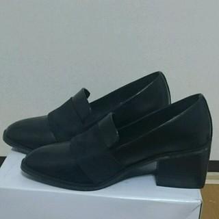 ミスティック(mystic)のmystic omekashi ブラック ローファー  半額以下(ローファー/革靴)