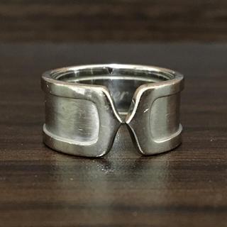 カルティエ(Cartier)のCartier  C2 リング K18WG (リング(指輪))