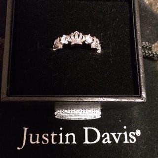 ジャスティンデイビス(Justin Davis)のJustin Davis♡SRJ325(リング(指輪))