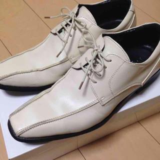 紳士靴 ホワイト(ドレス/ビジネス)
