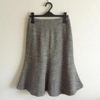 クレメンツリベイロ(CLEMENTS RIBEIRO)のクレメンツリベイロ♡ツイードスカート(ひざ丈スカート)