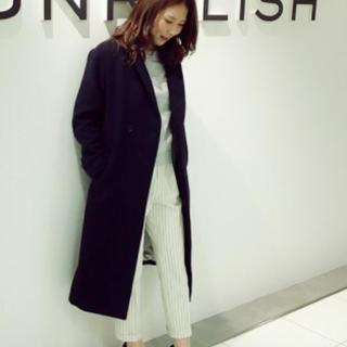アンレリッシュ(UNRELISH)のN♡様専用 UNRELISH ネイビーチェスターコート(チェスターコート)