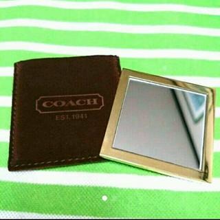 コーチ(COACH)のCOACH   ミラー  鏡(日用品/生活雑貨)