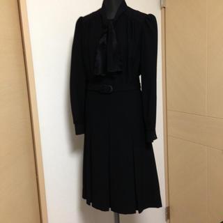 e92968c7e4da0e 11号前後 used ワンピース ドレスとマフラー2件(礼服/喪服)