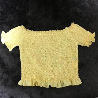【期間限定値下げ‼︎】〈トップス〉オフショル (Tシャツ(半袖/袖なし))