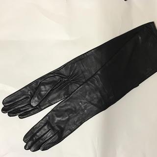 ザラ(ZARA)の未使用★レザー★ロンググローブ★手袋(手袋)