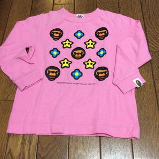 アベイシングエイプ(A BATHING APE)のBAPE KIDSロンT(Tシャツ/カットソー)