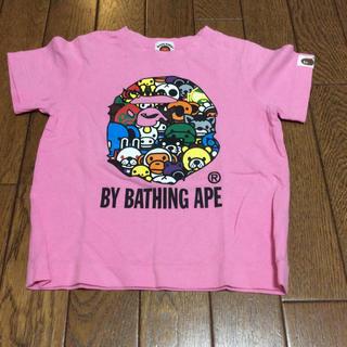 アベイシングエイプ(A BATHING APE)のBAPE KIDS Tシャツ(Tシャツ/カットソー)
