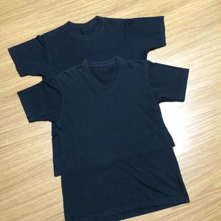ユニクロ(UNIQLO)のユニクロティーシャツ2枚(Tシャツ/カットソー(半袖/袖なし))