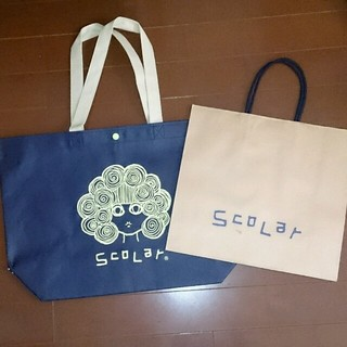 スカラー(ScoLar)のScoLarのショップ袋(ショップ袋)