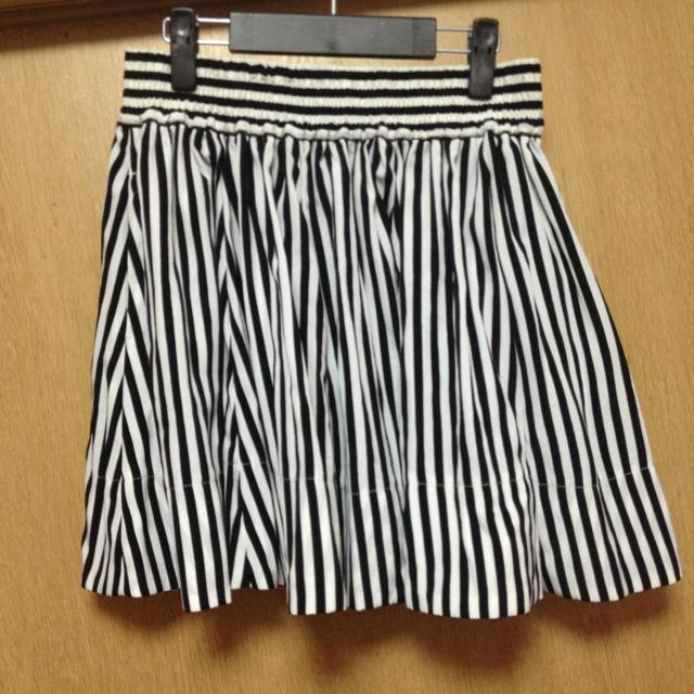 LOWRYS FARM(ローリーズファーム)のストライプスカート* レディースのスカート(ミニスカート)の商品写真