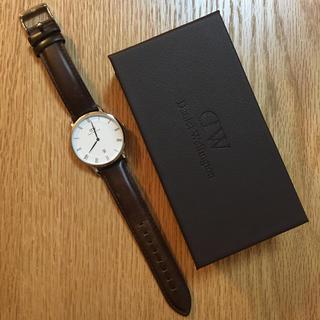 ダニエルウェリントン(Daniel Wellington)の【11/30までリナ様専用】ダニエルウエリントン腕時計 Dapper B38S1(腕時計(アナログ))