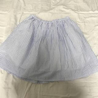 マーキュリーデュオ(MERCURYDUO)のマーキュリーデュオ♡ストライプ スカート(ミニスカート)