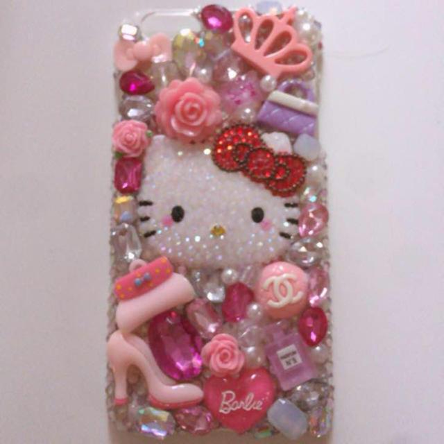 coach iphone8plus カバー 財布 | キティーちゃん デコケースの通販 by 55's shop|ラクマ