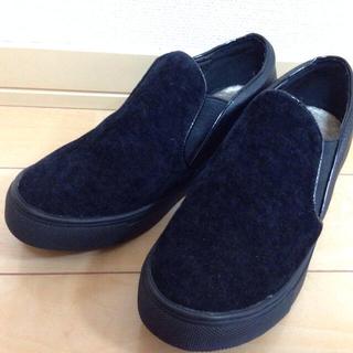 ページボーイ(PAGEBOY)のインヒールスリッポン*新品(ローファー/革靴)