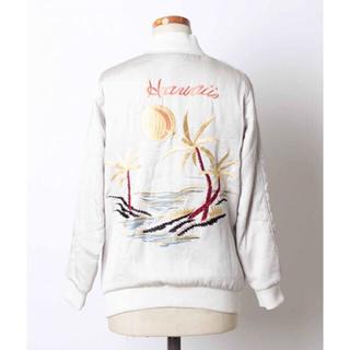 シェル(Cher)のayarin130様お取り置きcher インポート刺繍スカジャン(ブルゾン)