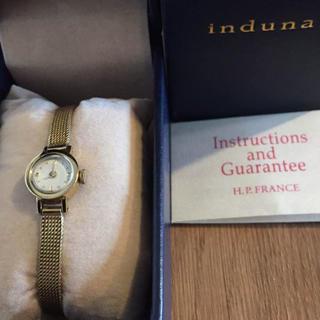 アッシュペーフランス(H.P.FRANCE)ののーの様専用  induna (腕時計)