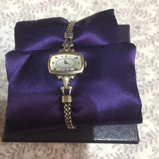アガット(agete)のagete シルバー腕時計 (腕時計)