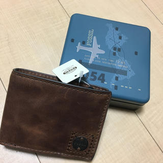フォッシル(FOSSIL)の財布(折り財布)