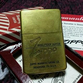 ジッポー(ZIPPO)の86年製 1937レプリカ!ソリブラヴィンテージ!!(タバコグッズ)
