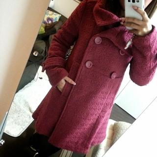パウダーシュガー(POWDER SUGAR)の大人pinkコート☆(トレンチコート)