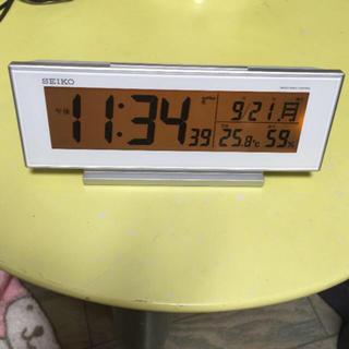 セイコー(SEIKO)の多機能 デジタル 時計(置時計)