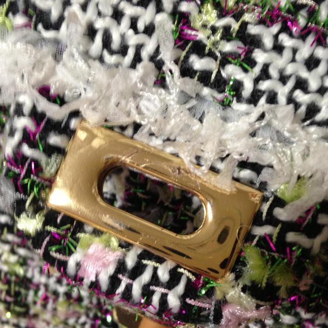 Chesty(チェスティ)のchesty  ツイードチェーンバッグ レディースのバッグ(ハンドバッグ)の商品写真