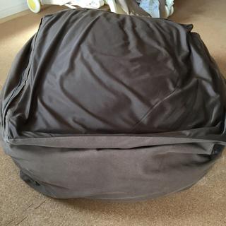 ムジルシリョウヒン(MUJI (無印良品))の無印 ビーズ クッション 体にフィットするソファ(ビーズソファ/クッションソファ)