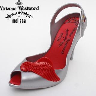 ヴィヴィアンウエストウッド(Vivienne Westwood)の☆新品!Vivienne Westwood×melissa ラバーパンプス(ハイヒール/パンプス)