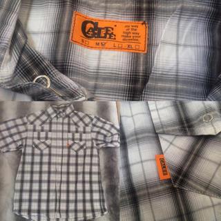 キャリー(CALEE)のCALLE 未使用シャツ チェックYシャツ M(シャツ)