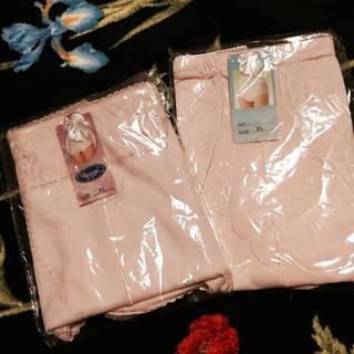 新品★ ピンク系  ショーツ 2枚セット  XL  大きいサイズ 送料無料(ショーツ)
