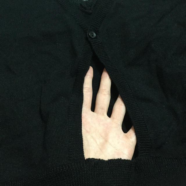 カットソー 黒 レディースのトップス(Tシャツ(長袖/七分))の商品写真