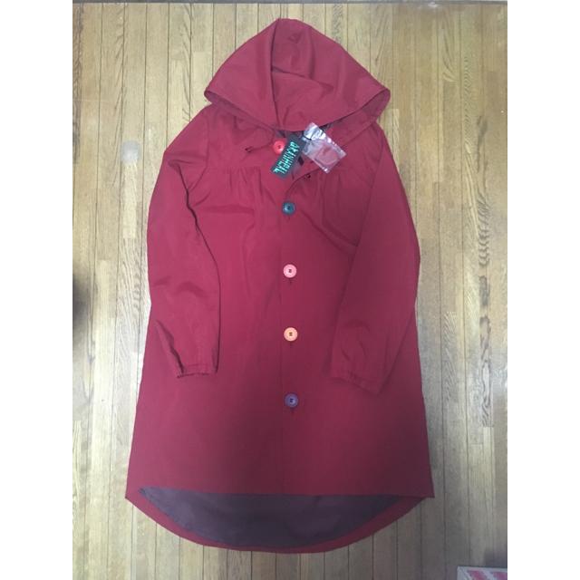 DRANHEAL(ドランヒール)のドランヒール♡新品赤コート レディースのジャケット/アウター(ロングコート)の商品写真