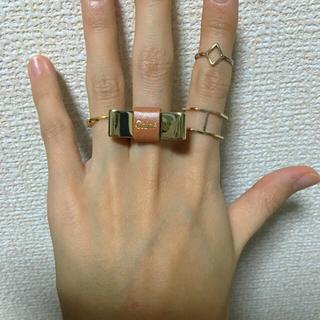 クロエ(Chloe)のクロエ  リボンモチーフリング(リング(指輪))