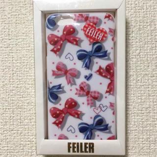 フェイラー(FEILER)の新品☆フェイラー iphoneケース☆(iPhoneケース)