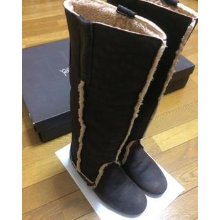 オデットエオディール(Odette e Odile)のオデット購入♡レロリタムートンブーツ(ブーツ)