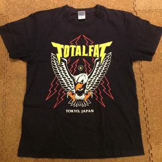 TOTALFAT × sabbat13 Tシャツ M ネイビー