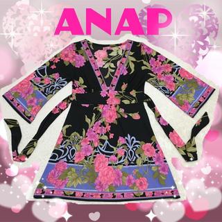 アナップ(ANAP)のANAP♡花柄♡ワンピース(その他)
