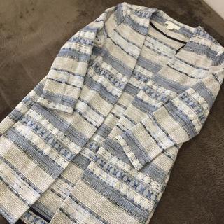 エイチアンドエム(H&M)のH&M 刺繍ジャケット(ノーカラージャケット)