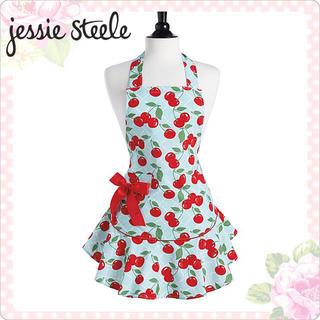ジェシースティール(Jessie Steele)のJessie steele cherry エプロン(収納/キッチン雑貨)
