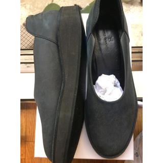 ヨウジヤマモト(Yohji Yamamoto)のY'S ラバーソールゴムスリッポン(ローファー/革靴)