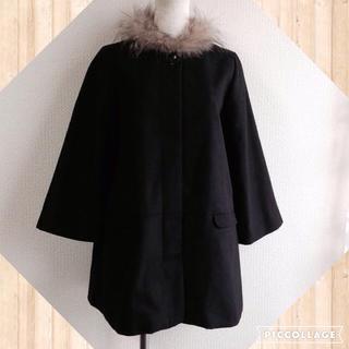 ルカ(LUCA)の新品タグ付LUCAファー衿コート(ダッフルコート)