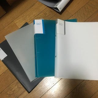 2穴 ファイル A4 ③(ファイル/バインダー)