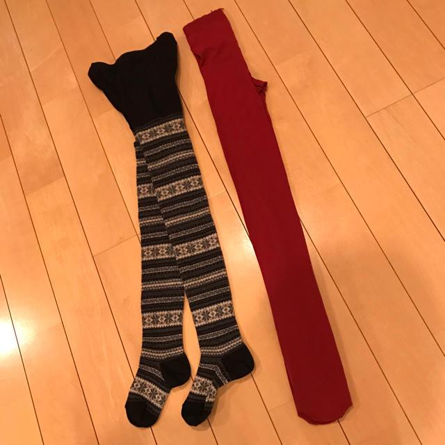 靴下屋(クツシタヤ)の未使用☆靴下屋 タイツ レディースのレッグウェア(タイツ/ストッキング)の商品写真