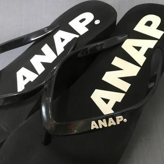 アナップ(ANAP)の◼︎ANAP◼︎ビーチサンダル/ブラック(ビーチサンダル)
